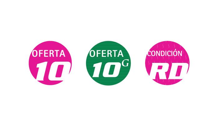 Cenfarte - Oferta 10, Oferta 10G y Condición RD
