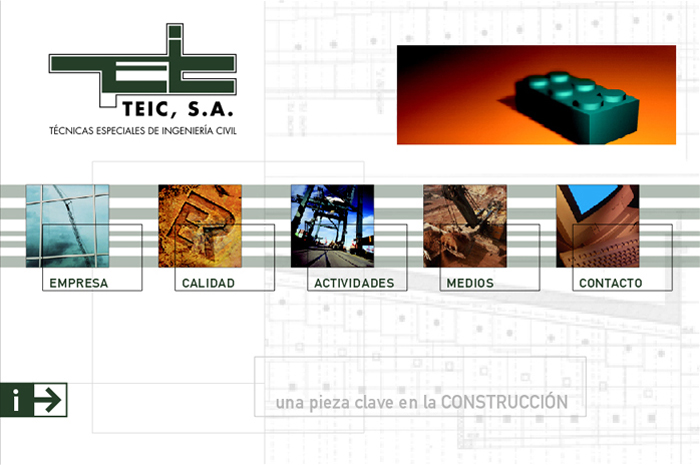 Teicsa - Página web